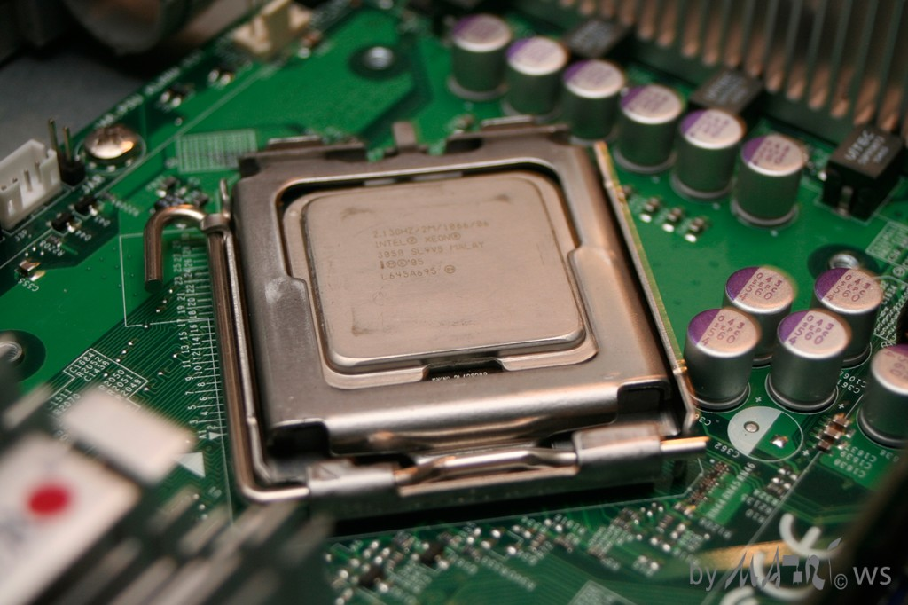CPU Socket of Storage Server 2